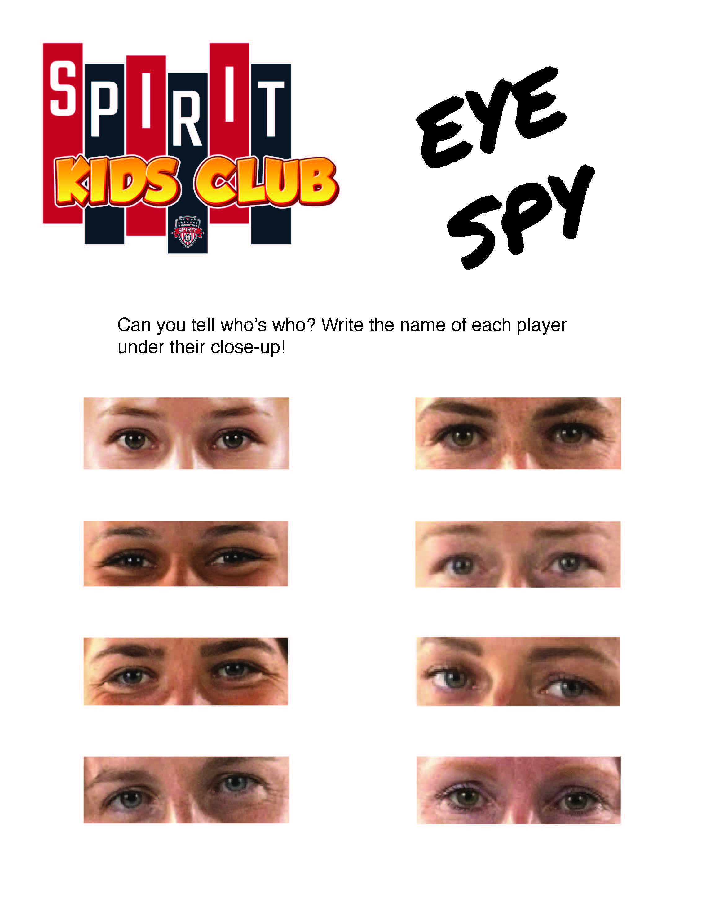 activity pages eye spy